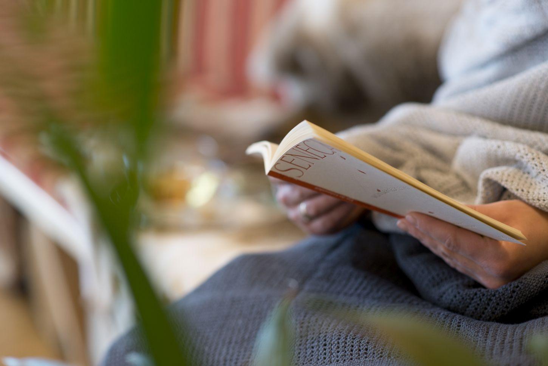 Entspannen mit Buch