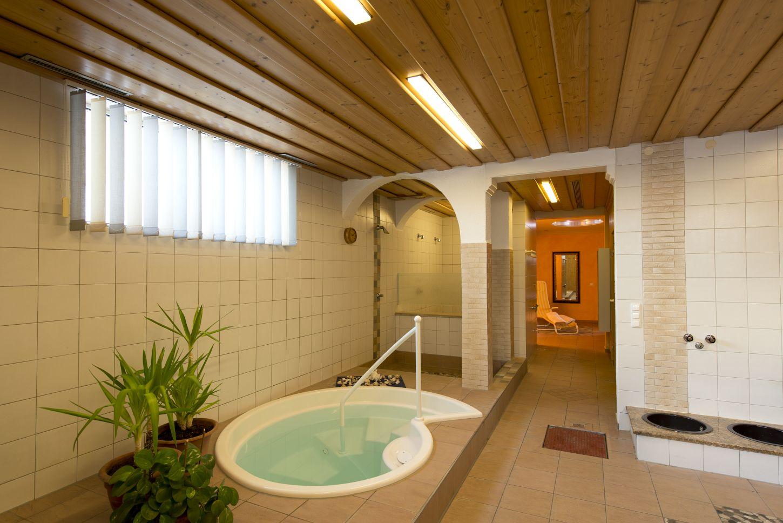 Tauchbecken Sauna